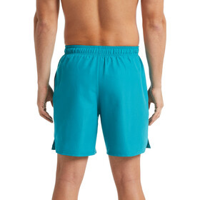 "Nike Swim Solid Lap 7"" Shorts de Volley Hombre, spirit teal"